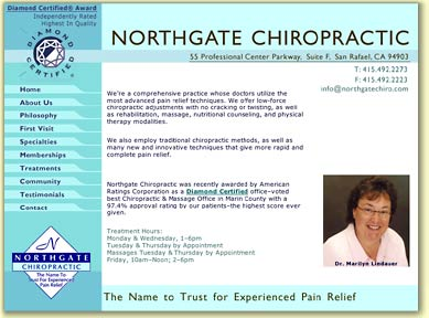 Northgate Chiropractic site