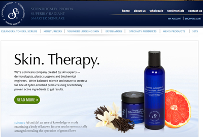 S3 Skincare Website Copywriting Freelance Copywriting Zeimer S Advertising Shoppe
