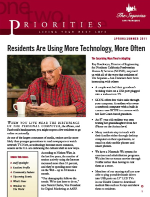 Senior Living Newsletter Copywriting