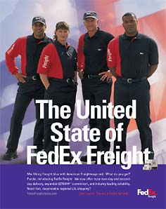 Fed Ex Freight Ad