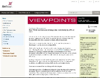 ViewPoints Newsletter Article